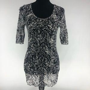 BKE lace tunic